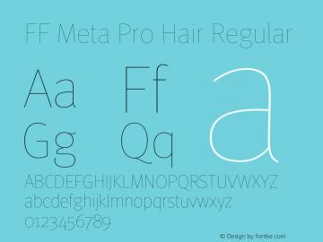 FF Meta Pro Hair
