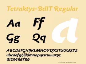 Tetraktys-BdIT