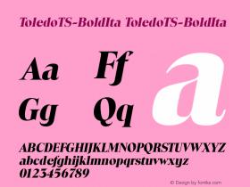 ToledoTS-BoldIta