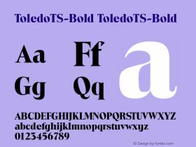 ToledoTS-Bold