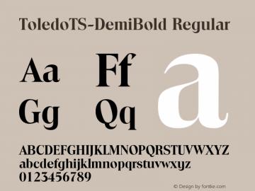 ToledoTS-DemiBold