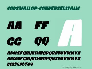 Codswallop-CondensedItalic