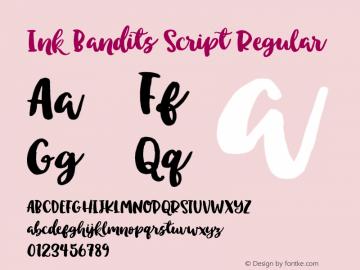 Ink Bandits Script