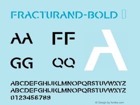 FracturaND-Bold