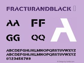FracturaNDBlack