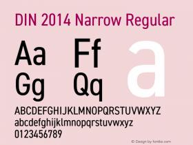 DIN 2014 Narrow