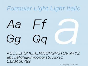 Formular Light