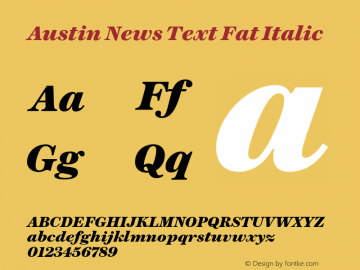 Austin News Text Fat