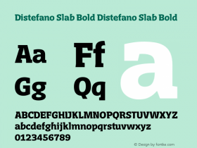 Distefano Slab Bold