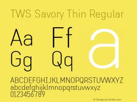 TWS Savory Thin
