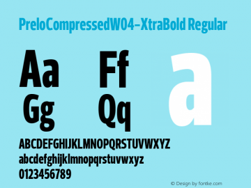 PreloCompressed-XtraBold