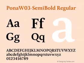 Pona-SemiBold