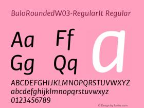 BuloRounded-RegularIt