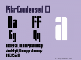 Pila-Condensed