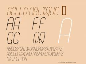 Sello-Oblique