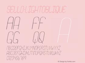 Sello-LightOblique