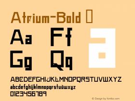 Atrium-Bold