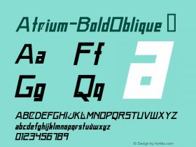 Atrium-BoldOblique