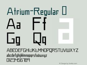 Atrium-Regular