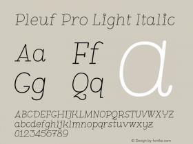 Pleuf Pro Light