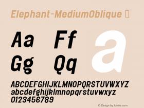 Elephant-MediumOblique