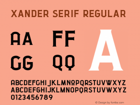 Xander Serif