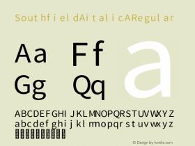 Southfield italic