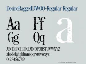 DesireRaggedD-Regular