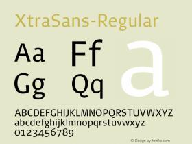 XtraSans-Regular