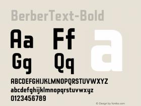 BerberText-Bold