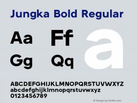 Jungka Bold