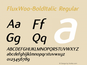 Flux-BoldItalic