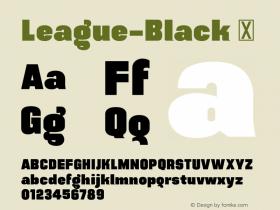 League-Black