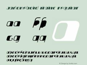 JakoneBold Italic