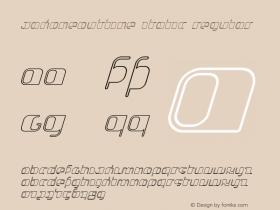 JakoneOutline Italic
