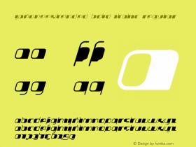 JakoneExtended Bold Italic
