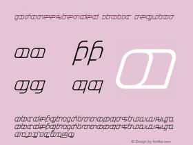 JakoneExtended Italic