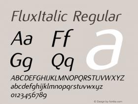 FluxItalic