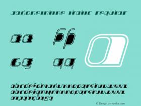JakoneInline Italic
