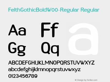 FelthGothicBold-Regular