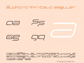 EuphoricThin Italic