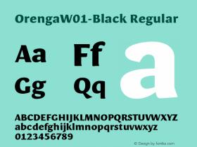 Orenga-Black