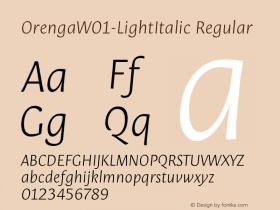 Orenga-LightItalic