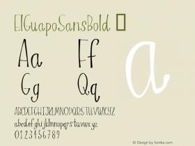 ElGuapoSansBold