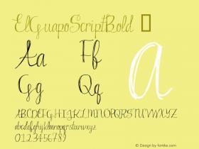 ElGuapoScriptBold
