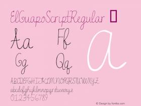 ElGuapoScriptRegular