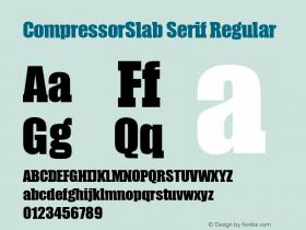 CompressorSlab Serif