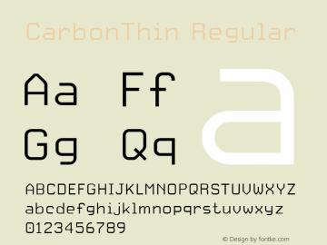 CarbonThin