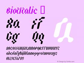 BiotItalic