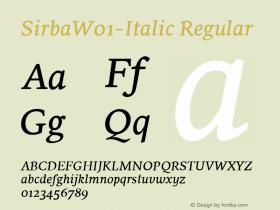Sirba-Italic